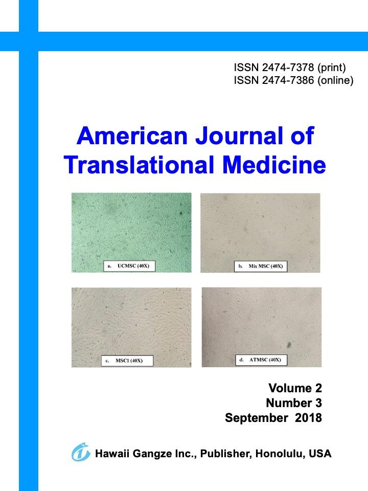 American Journal of Translational Medicine